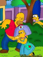 Simpsons family adventure in hospital